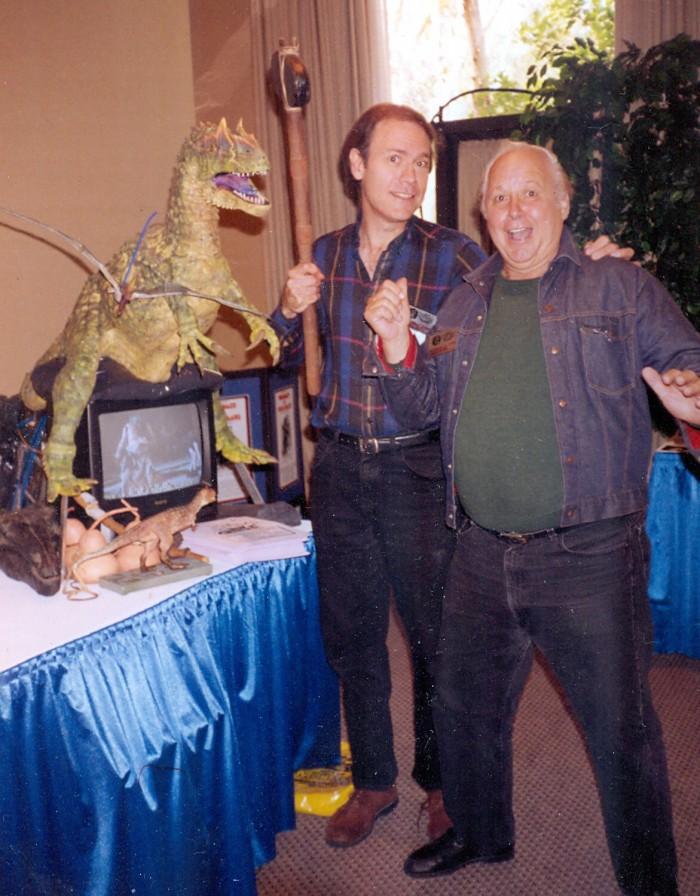 Allosaurus and Conrad Brooks