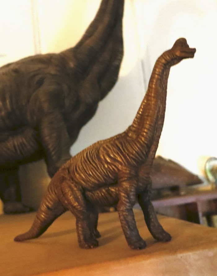 Brachiosaur model