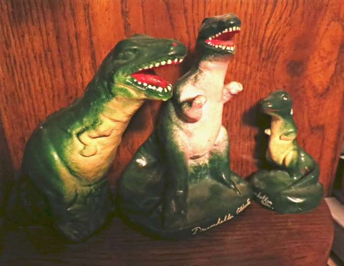 Drumheller rexes