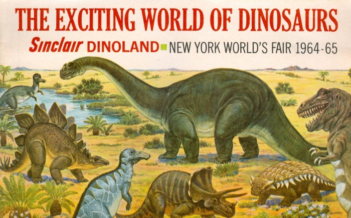 EXCITING WORLD OF DINOSAURS