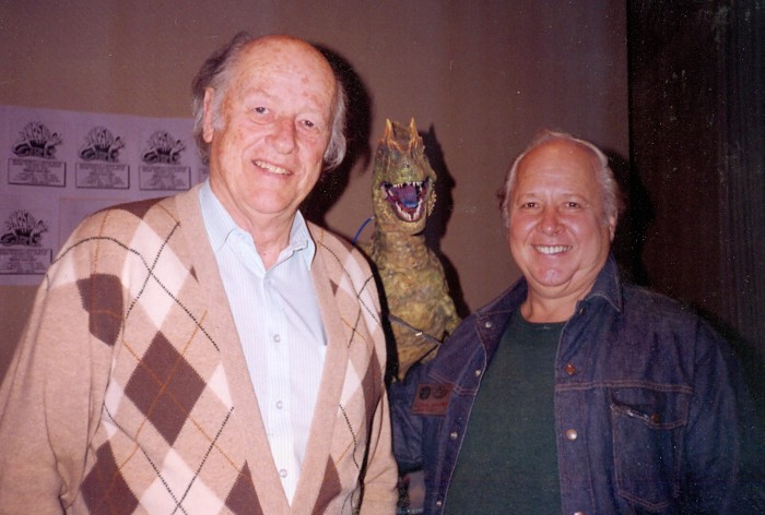 Harryhausen and Brooks