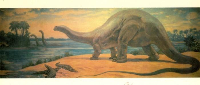 Knight-Apatosaurus