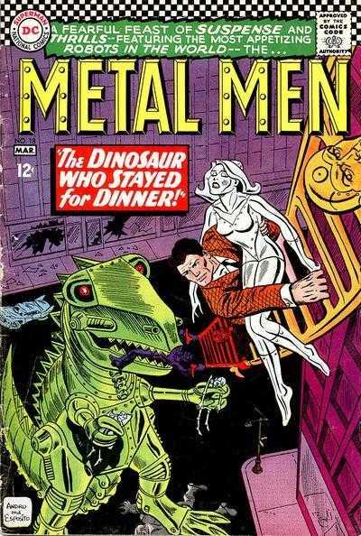 Metal Men 18 (1966)