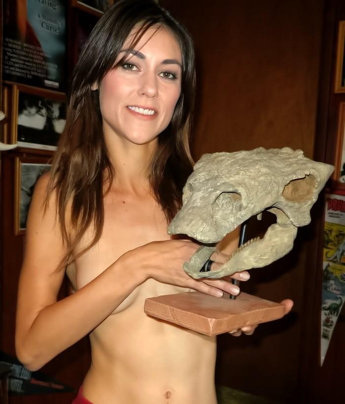 Pawpawsaurus-skull-cast