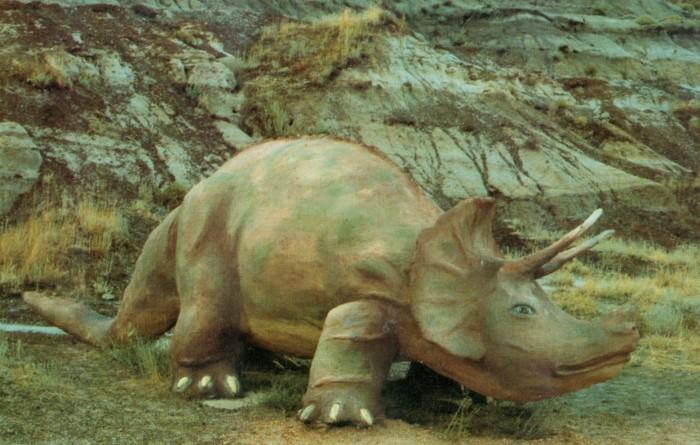 Prehistoric Parks Triceratops