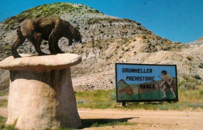 Prehistoric Parks cat