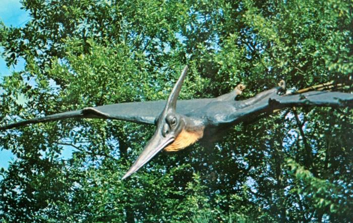 Pteranodon statue