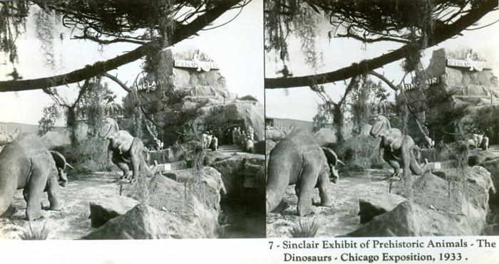 Triceratops Tyrannosaurus Sinclair