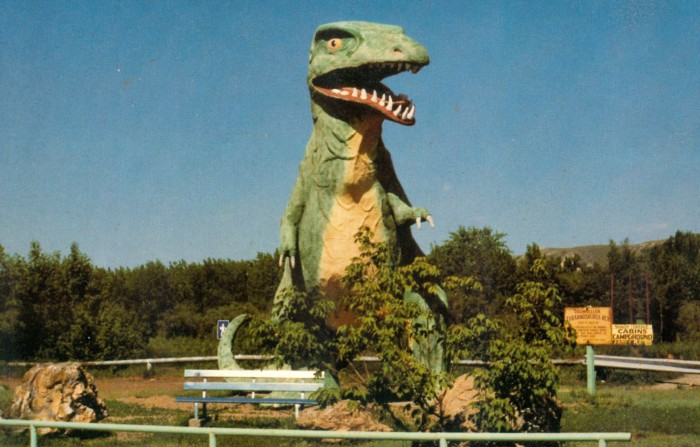 Tyrannosaurus downtown Drumheller