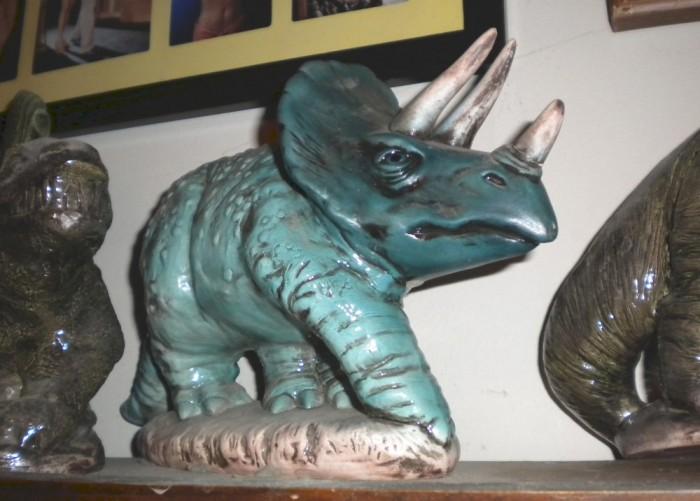 ceramic Triceratops