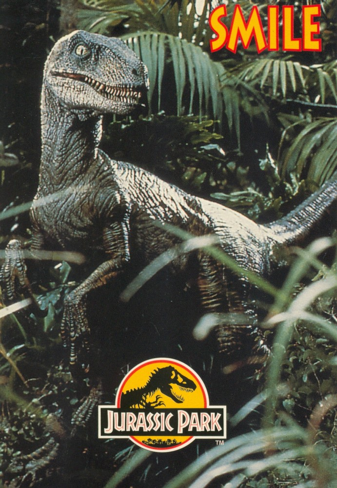 "X 3 2 >> ""Jurassic Park"" Velociraptor"