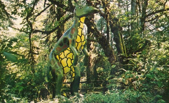 Edmontosaurus Prehistoric Gardens