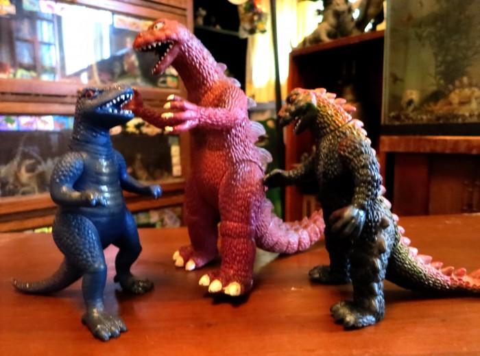 fake Godzillas