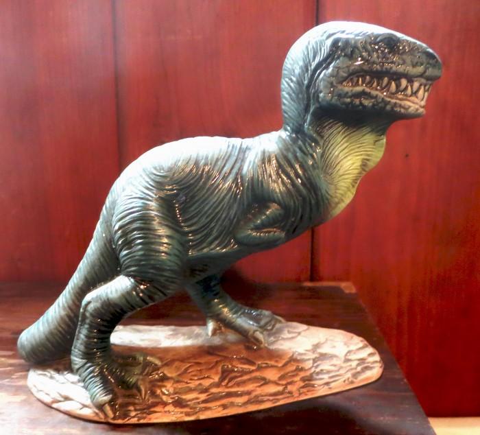 Ceramic T. rex