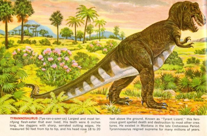 Tyrannosaurus Sinclair booklet
