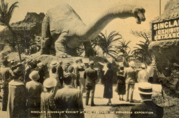 Sinclair dinosaur 1933