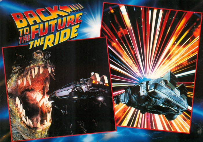 Back to the Future postcard