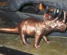 Centrosaurus-metal-figure