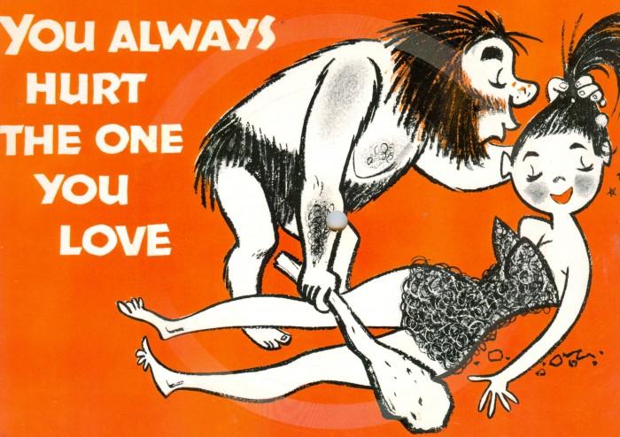 Spike Jones postcard