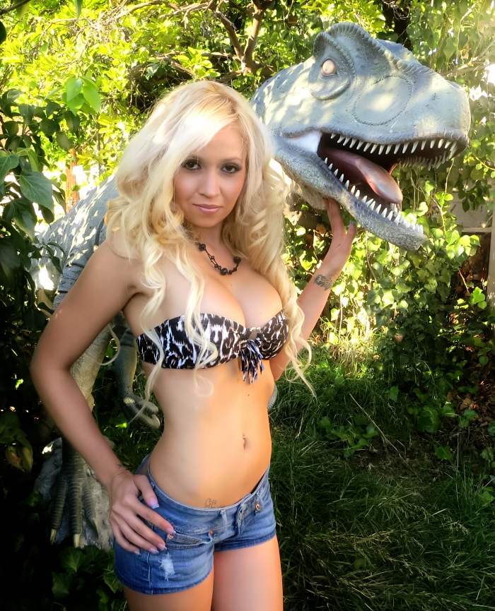 Allosaurus-statue