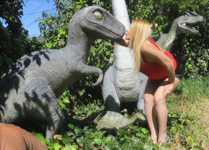 Baby T. rex