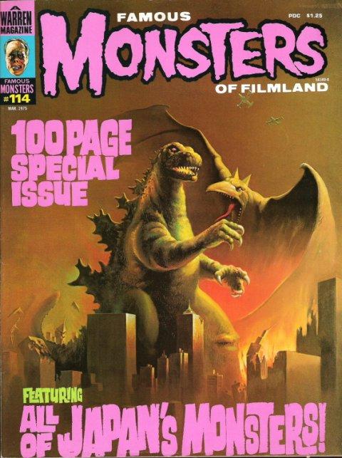 Godzilla FM cover