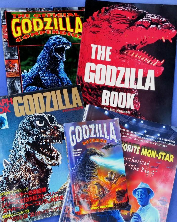 Godzilla books