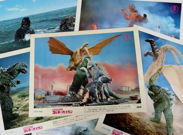 Godzilla lobby cards