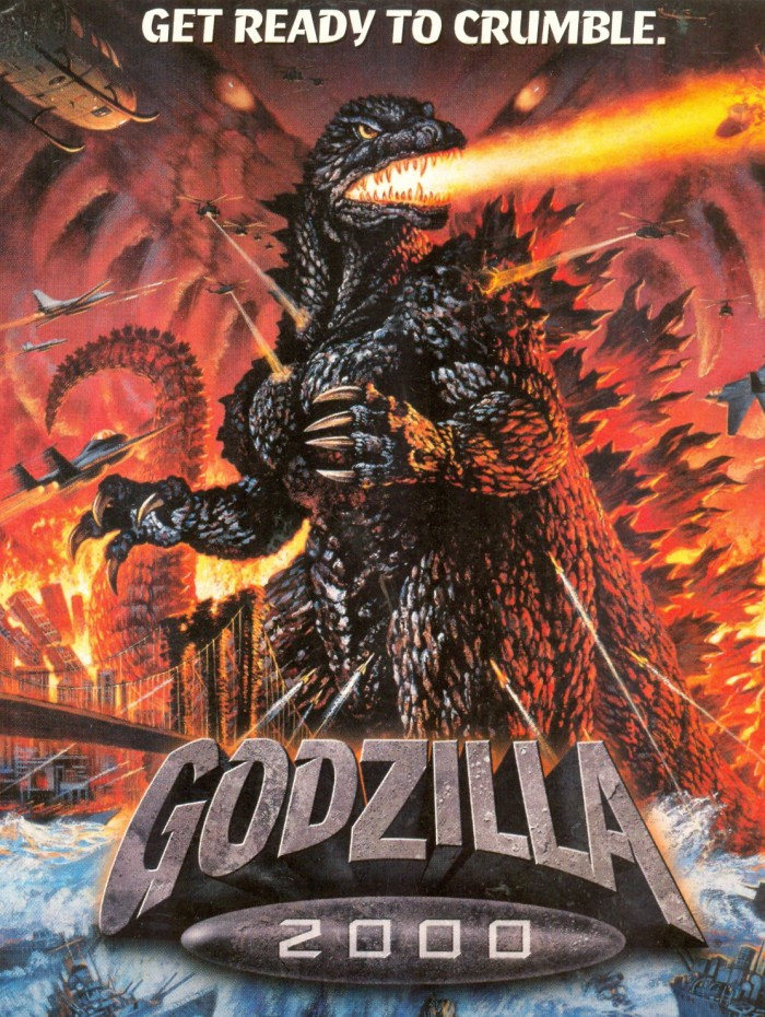 Godzilla post card
