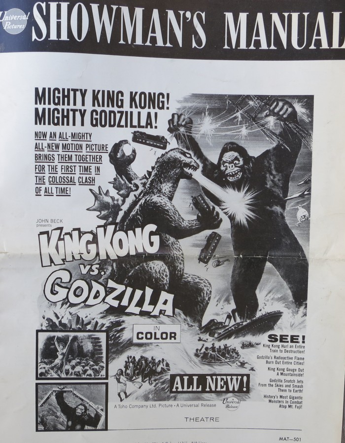 Godzilla pressbook