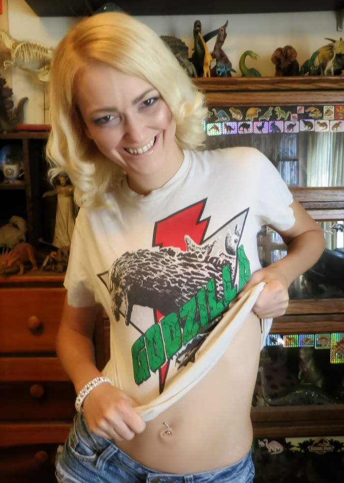 Godzilla-t-shirt