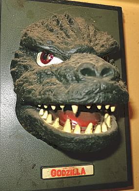 Roaring Godzilla head