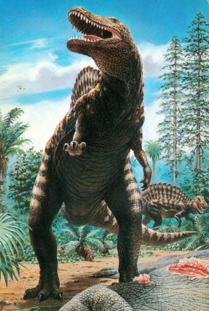 Spinosaurus DinoCardz Co. Dave Marrs art
