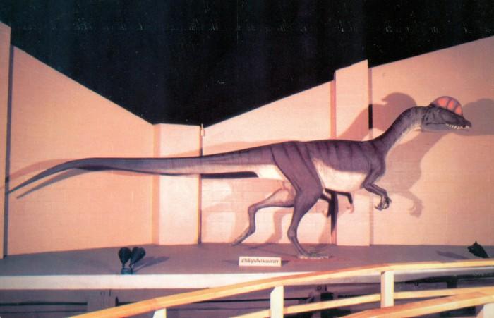 Dinosaur State Park Dilophosaurus
