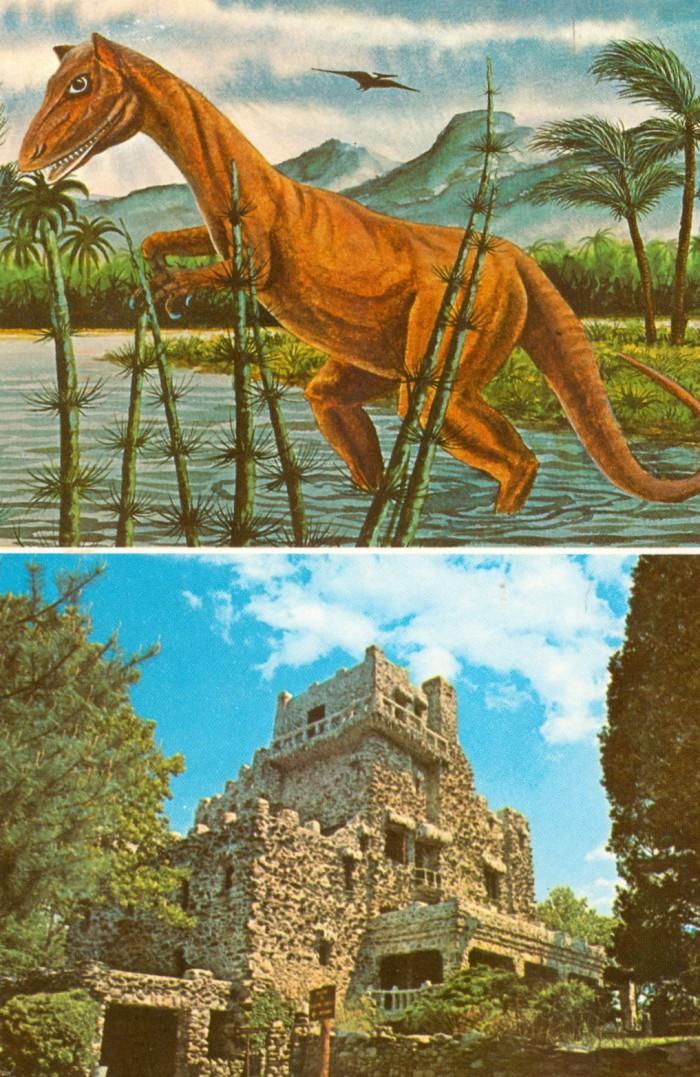 Dinosaur State Park castle