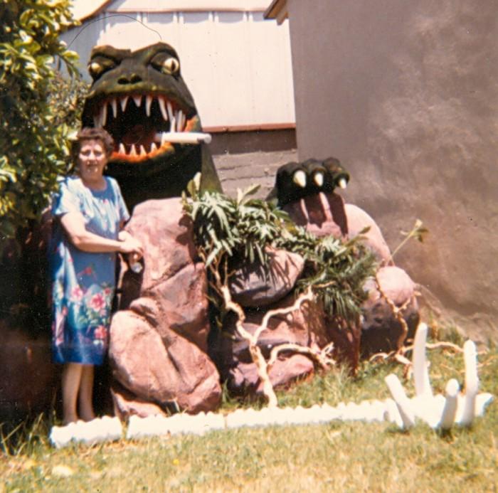 Mom & Godzilla