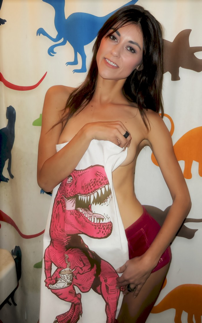 Tyrannosaurus-towel