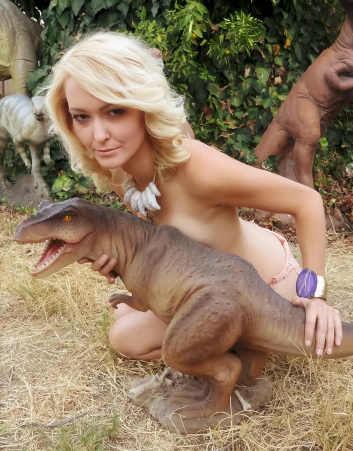 T. rex model
