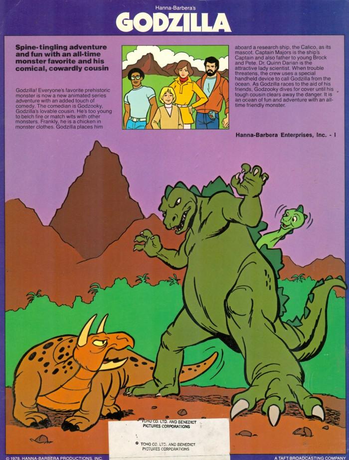 Godzilla cartoons