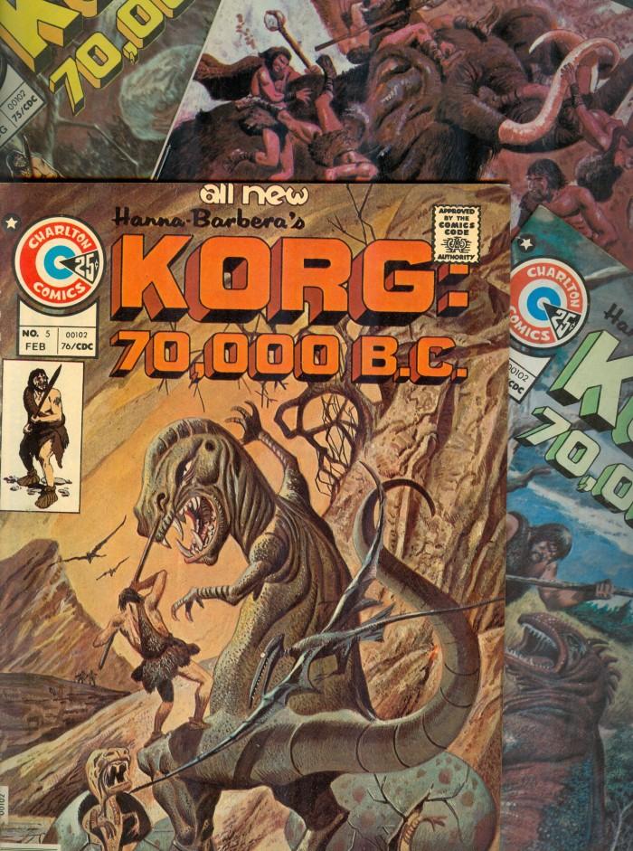 Korg comic books
