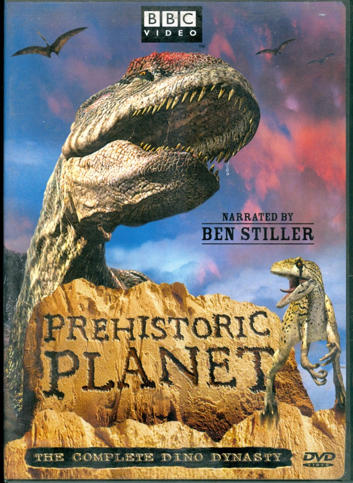 Prehistoric Planet DVD
