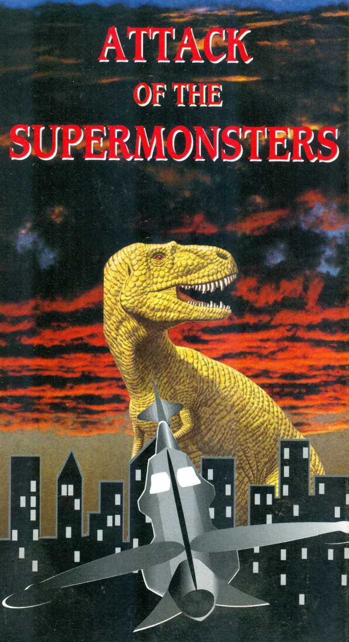 Supermonsters VHS